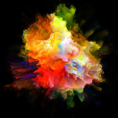 Visualization of Color Splash Explosion