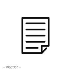 paper vector icon