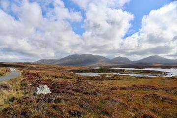 Loch Druidibeg North Uist Hebriden