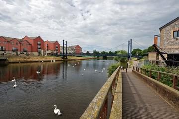 Exeter - Fluss Exe - Quayside
