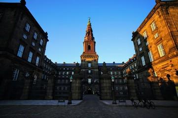 コペンハーゲン市内の風景