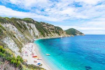 Wall Mural - Landscape with Sansone beach, Elba Island, Tuscany, Italy