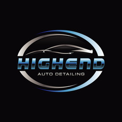 Car Auto Detail Logo Symbol