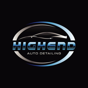 Car Auto Detail Logo Symbol