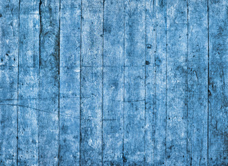 blue grungy painted wooden texture