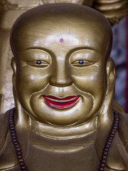 Buddha im Xihua Park in Wenshan in Yunnan in China