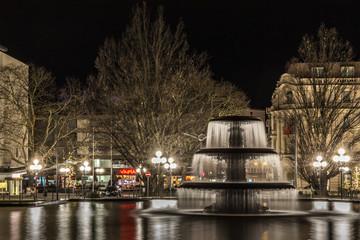 Wiesbaden an einem Wintermorgen