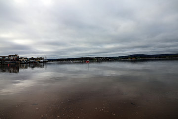Exmouth Estuary, Devon