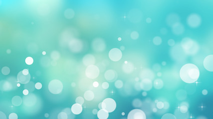 abstract particle bokeh background