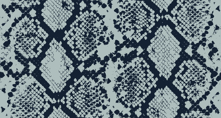 Seamless Snake Skin Pattern