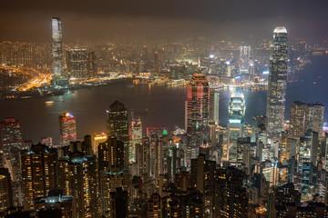 Hong Kong,  China, Metropole, Hochhäuser,