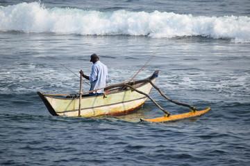 Fishing  Down Southof Sri Lanka