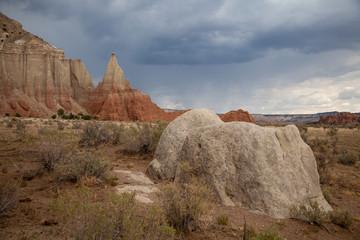 Dramatic Sandstone Cliffs, Southern Utah