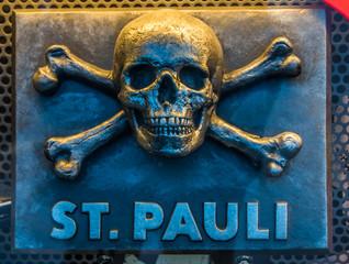 Skull and bone st. pauli hamburg