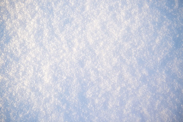 Close up of fresh snow great as a background
