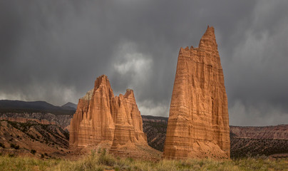 Capitol Reef's Cathedral Valley