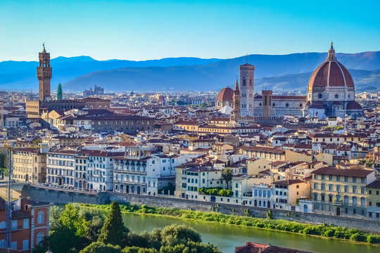 Cityscape of Florence, Tuscany, Italy