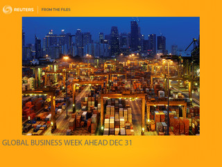 FROM THE FILES - GLOBAL BUSINESS WEEK AHEAD. - RKB