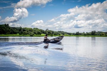 Cities of Brazil - Manaus, Amazonia - Lago do Catalao Community