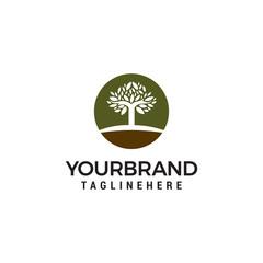 Tree Logo Design Template