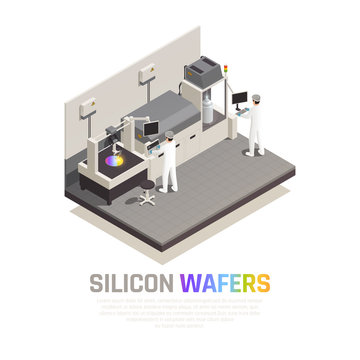 Silicon Chip Production Background