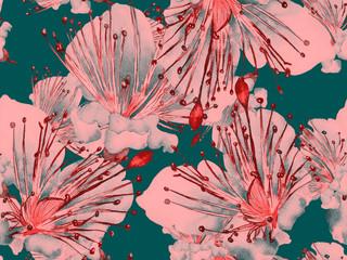 Bold Flower Pattern.