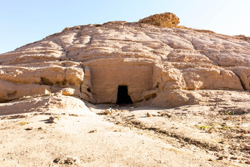 Madyan - city of Prophet Shoaib, Al-Bad, Northern Saudi Arabia.