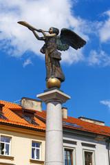 Engel von Uzupis in Vilnius, Litauen