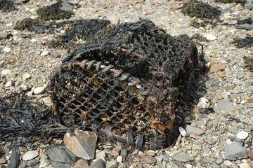Lobster Pots on the Beach 1