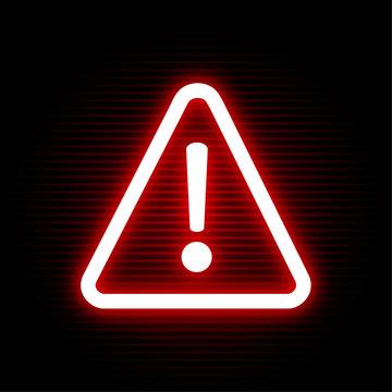 exclamation alarm symbol