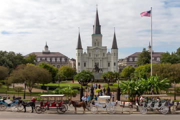 French Quarter (Quartiere Francese), New Orleans (USA)