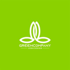 Landscaping logo design vector
