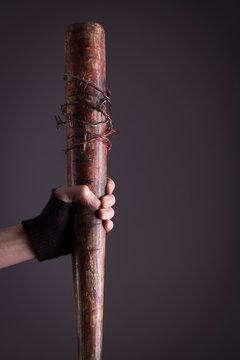 Female assassin bat detail