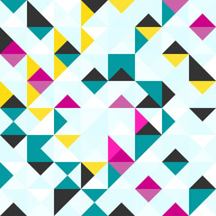 bright colored polygons abstract geometric background