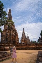Temple, Ayutthaya Thailand