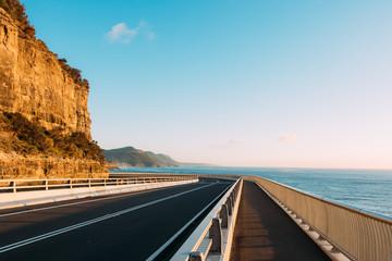 Sea Cliff Bridge Wall mural