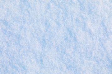 Snow and ice crystal background or texture of Russian park of forest. The white snow surface of the drift