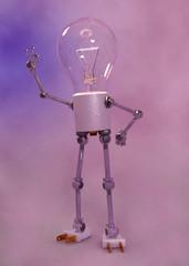 Glühlampen Figur