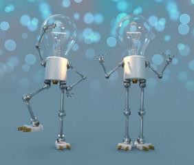Glühlampen Figuren