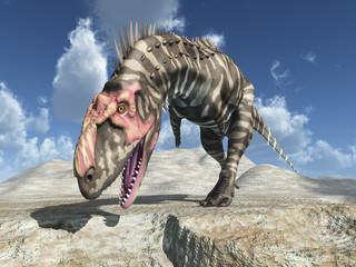 Dinosaurier Rajasaurus