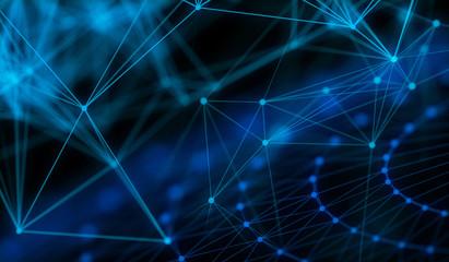 Technology modern dynamic plasma energy laser futuristic virtual technology background,  digitally generated image.