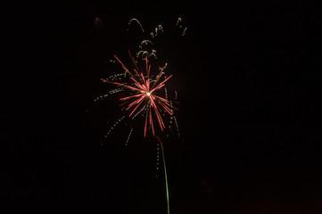 Happy New Year 2019 firework.