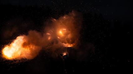 Explosion Knallkörper