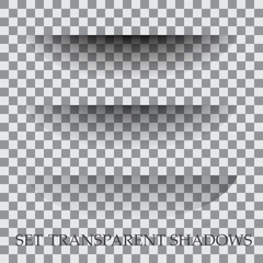 Transparent paper with realistic shadow effect is selected.