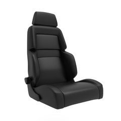 Car Sport Seat 3d Render Isolated