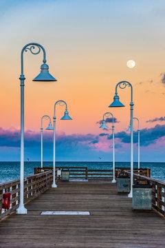 Pier in Daytona Beach Florida