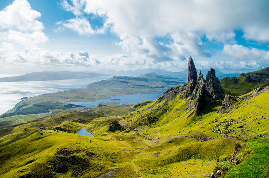 Old Man of Storr (Skye, Scotland)