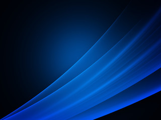 Blue smooth lines background