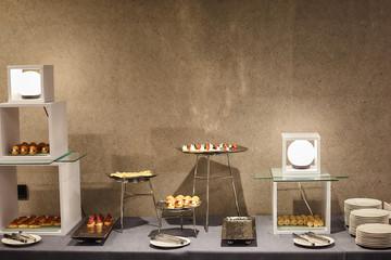 Fotobehang Assortiment Banquet appetizers