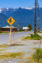 道路標識 工事中